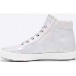 Geox - Buty. Szare buty sportowe damskie Geox, z gumy. W wyprzedaży za 269,90 zł.