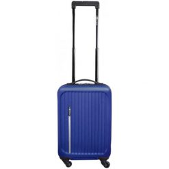 Leonardo Bagaż Podręczny Trolley Premium Niebieski. Niebieskie walizki Leonardo. Za 127,00 zł.