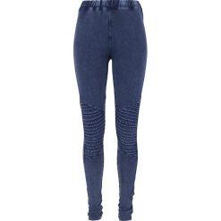 Spodnie damskie: Urban Classics Ladies Denim Jersey Leggings Legginsy niebieski