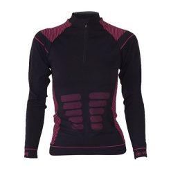 Bluzki sportowe damskie: Viking Koszulka damska Alisa (turtleneck) czarna r. L (5001749 L)
