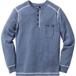 Swetry męskie: Sweter Regular Fit bonprix indygo melanż