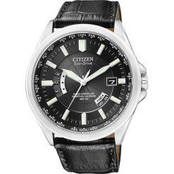 ZEGAREK CITIZEN Radio Controlled CB0010-02E. Czarne zegarki męskie CITIZEN, ze stali. Za 1290,00 zł.