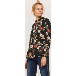 Koszula w kwiaty - Wielobarwn. Niebieskie koszule damskie marki House, m. Za 69,99 zł.