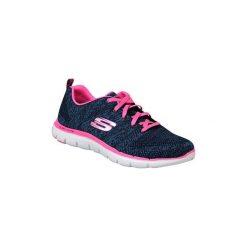 Fitness buty Skechers  Flex Appeal 2.0 12756-NVHP. Szare buty do fitnessu damskie marki KALENJI, z gumy. Za 229,99 zł.