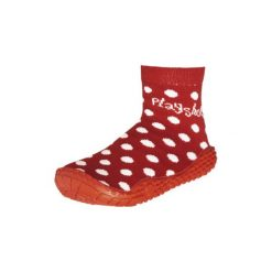 Playshoes  Buty do wody Punkty, czerwony - Gr.Moda (6 - 24 miesięcy ). Czerwone buciki niemowlęce Playshoes, z elastanu. Za 39,00 zł.