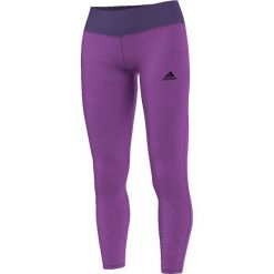 Legginsy sportowe damskie: Adidas Legginsy Basics LGT fioletowe M (AY6228)