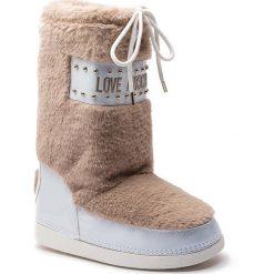 Śniegowce LOVE MOSCHINO - JA24052G06JS0209 Ardesia. Białe buty zimowe damskie Love Moschino, z materiału. Za 719,00 zł.