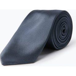 Calvin Klein - Krawat jedwabny męski, szary. Szare krawaty męskie marki Calvin Klein, z jedwabiu, eleganckie. Za 179,95 zł.