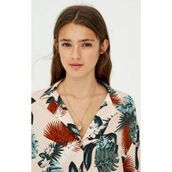 Koszule damskie: Koszula z tropikalnym nadrukiem