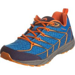 """Buty sportowe """"Lemah"""" w kolorze niebiesko-pomarańczowym. Brązowe buty sportowe męskie marki Reebok, z materiału. W wyprzedaży za 104,95 zł."""