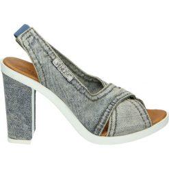 Sandały damskie: Sandały - 1058-Y3 JEANS