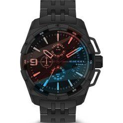 Diesel - Zegarek DZ4395. Czarne zegarki męskie marki Fossil, szklane. W wyprzedaży za 899,90 zł.
