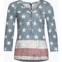 T-shirty damskie: Key Largo – Damska koszulka z długim rękawem, niebieski