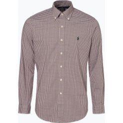Polo Ralph Lauren - Koszula męska – Regular Fit, brązowy. Brązowe koszule męskie na spinki marki Polo Ralph Lauren, m, z haftami, z bawełny, polo. Za 349,95 zł.