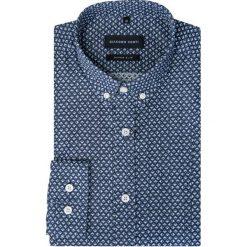 Koszula MICHELE KDWR000284. Szare koszule męskie na spinki marki House, l, z bawełny. Za 229,00 zł.