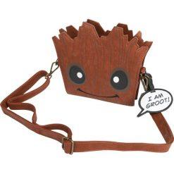 Torebki i plecaki damskie: Guardians Of The Galaxy Loungefly – Groot Torebka – Handbag brązowy