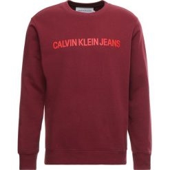 Calvin Klein Jeans INSTITUTIONAL LOGO  Bluza brown. Czerwone bluzy męskie Calvin Klein Jeans, m, z bawełny. Za 379,00 zł.