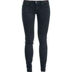 Boyfriendy damskie: Cheap Monday Slim - New Black Jeansy damskie czarny