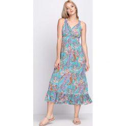 Sukienki: Miętowa Sukienka Unforgettable