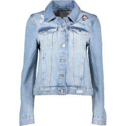 Kurtki i płaszcze damskie: Dżinsowa kurtka w kolorze błękitnym