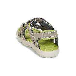 Sandały sportowe Dziecko  Timberland  PERKINS ROW 2-STRAP. Brązowe buty sportowe chłopięce marki Timberland. Za 139,30 zł.