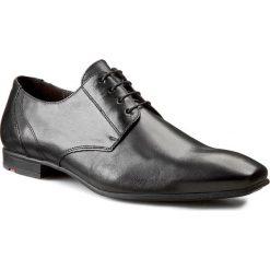 Półbuty LLOYD - Powell 12-207-00 Schwarz. Czarne buty wizytowe męskie Lloyd, ze skóry. W wyprzedaży za 459,00 zł.