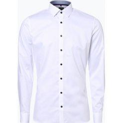 Koszule męskie na spinki: Olymp No.6 six – Koszula męska łatwa w prasowaniu, czarny