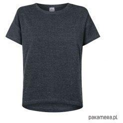 T-shirt basic GRAFIT. Szare t-shirty damskie Pakamera, z nadrukiem, z bawełny. Za 99,00 zł.