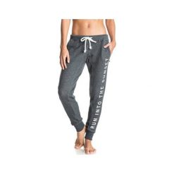 Roxy Spodnie Dresowe  Skin J True Black L. Czarne bryczesy damskie marki Roxy, l, z dresówki. W wyprzedaży za 149,00 zł.