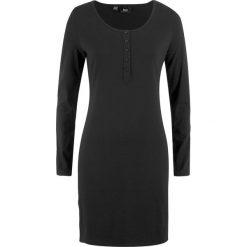 Sukienka shirtowa z plisą guzikową bonprix czarny. Fioletowe sukienki z falbanami marki Reserved, z weluru, plisowane. Za 44,99 zł.