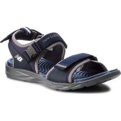 Sandały męskie skórzane: Sandały NEW BALANCE – M2067NV Granatowy
