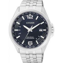 ZEGAREK CITIZEN Radio Controlled CB0010-88L. Niebieskie zegarki męskie CITIZEN, ze stali. Za 1625,00 zł.