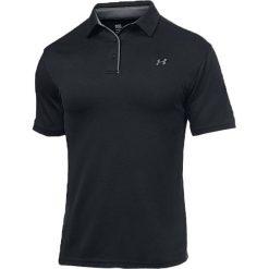 Koszulki polo: Under Armour Koszulka męska Tech Polo M Czarna r. S (1290140-001*S)