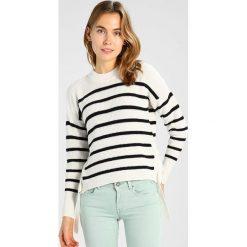 Swetry klasyczne damskie: IVY & OAK CROPPED JUMPER Sweter navy blue/ecru