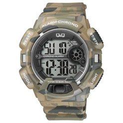 Zegarek Q&Q Męski M132-005 Moro Camo. Zielone zegarki męskie Q&Q. Za 126,99 zł.