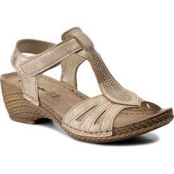Rzymianki damskie: Sandały INBLU – TRBBOO19 Złoty
