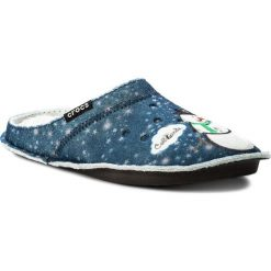Kapcie damskie: Kapcie CROCS – Classic Graphic Slipper 204565  Navy