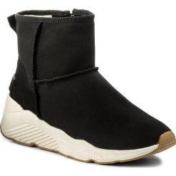 Botki BIG STAR - Y274164A Black. Czarne buty zimowe damskie marki BIG STAR, ze skóry ekologicznej, retro. W wyprzedaży za 119,00 zł.