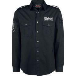 Slipknot EMP Signature Collection Koszula czarny. Czarne koszule męskie Slipknot, xl, z aplikacjami, z długim rękawem. Za 164,90 zł.