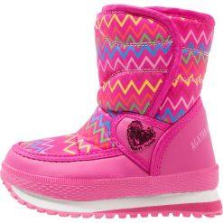 Agatha Ruiz de la Prada APRESKI Śniegowce pink. Szare buty zimowe damskie marki Agatha Ruiz de la Prada. W wyprzedaży za 142,35 zł.