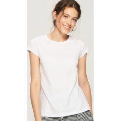 Bluzki, topy, tuniki: T-shirt BASIC - Biały