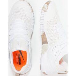 Nike Performance FREE METCON Obuwie do biegania neutralne white/sand/sepia stone. Brązowe buty do biegania męskie marki N/A, w kolorowe wzory. Za 499,00 zł.