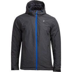 Kurtka narciarska męska KUMN600 - CZARNY MELANŻ - Outhorn. Czarne kurtki męskie pikowane Outhorn, na jesień, m, melanż, z materiału, narciarskie. W wyprzedaży za 160,99 zł.