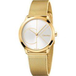 ZEGAREK CALVIN KLEIN MINIMAL MIDSIZE K3M22526. Szare zegarki męskie Calvin Klein, szklane. Za 1169,00 zł.