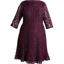 Sukienki hiszpanki: Dorothy Perkins Curve FLUTE HEM AND SLEEVE Sukienka koktajlowa burgundy