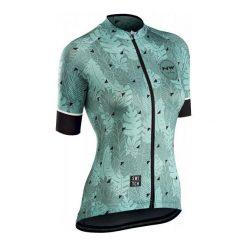 Northwave Koszulka Rowerowa Floreal W Jrsy S/S Green/Forest S. Zielone bluzki sportowe damskie Northwave, s, z materiału. Za 299,00 zł.