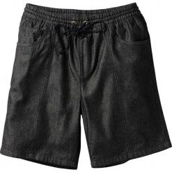 Bermudy z gumką w talii Classic Fit bonprix czarny. Czarne bermudy męskie bonprix, wakacyjne. Za 37,99 zł.