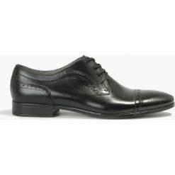 Półbuty czarne Tito. Czarne buty wizytowe męskie Badura. Za 215,99 zł.