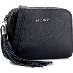 Torebka BELLUCCI - R-264 Granat 2. Czarne listonoszki damskie marki Bellucci. W wyprzedaży za 179,00 zł.