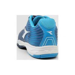 Buty trekkingowe męskie: Diadora COMPETITION 4 AG Obuwie do tenisa Outdoor fluo blue/estate blue/white